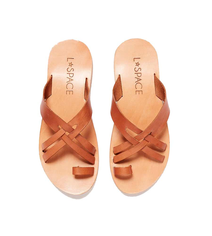 TAN SHORE BREAK SANDAL LSPACE LSSHB20-TAN