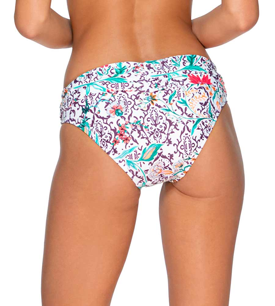 TERRACE BLOOMS ALOHA BANDED BOTTOM SWIM SYSTEMS C247TEBLO