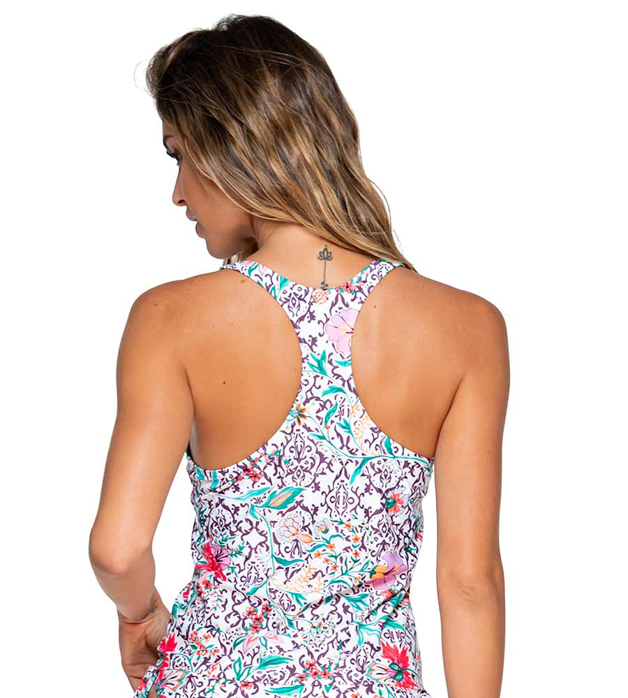 TERRACE BLOOMS TAHLIA TANKINI TOP BY SWIM SYSTEMS