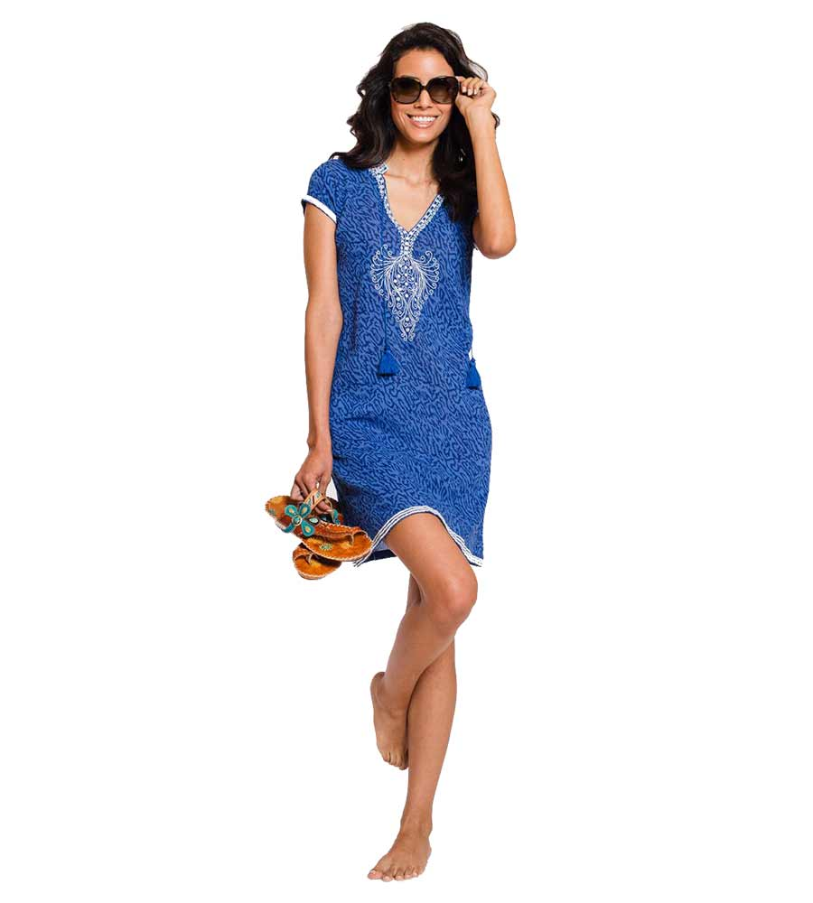 TIGER BLUE NAPLES DRESS SULU NAPLES1