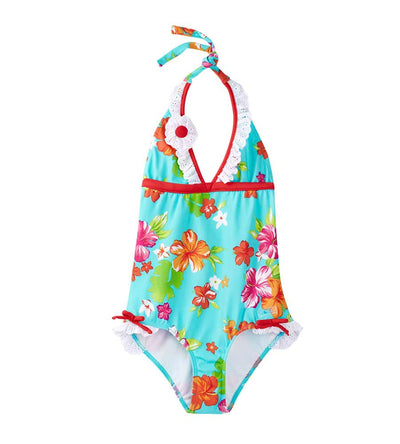 TOTES CUTE HALTER ONE PIECE AZUL 1683