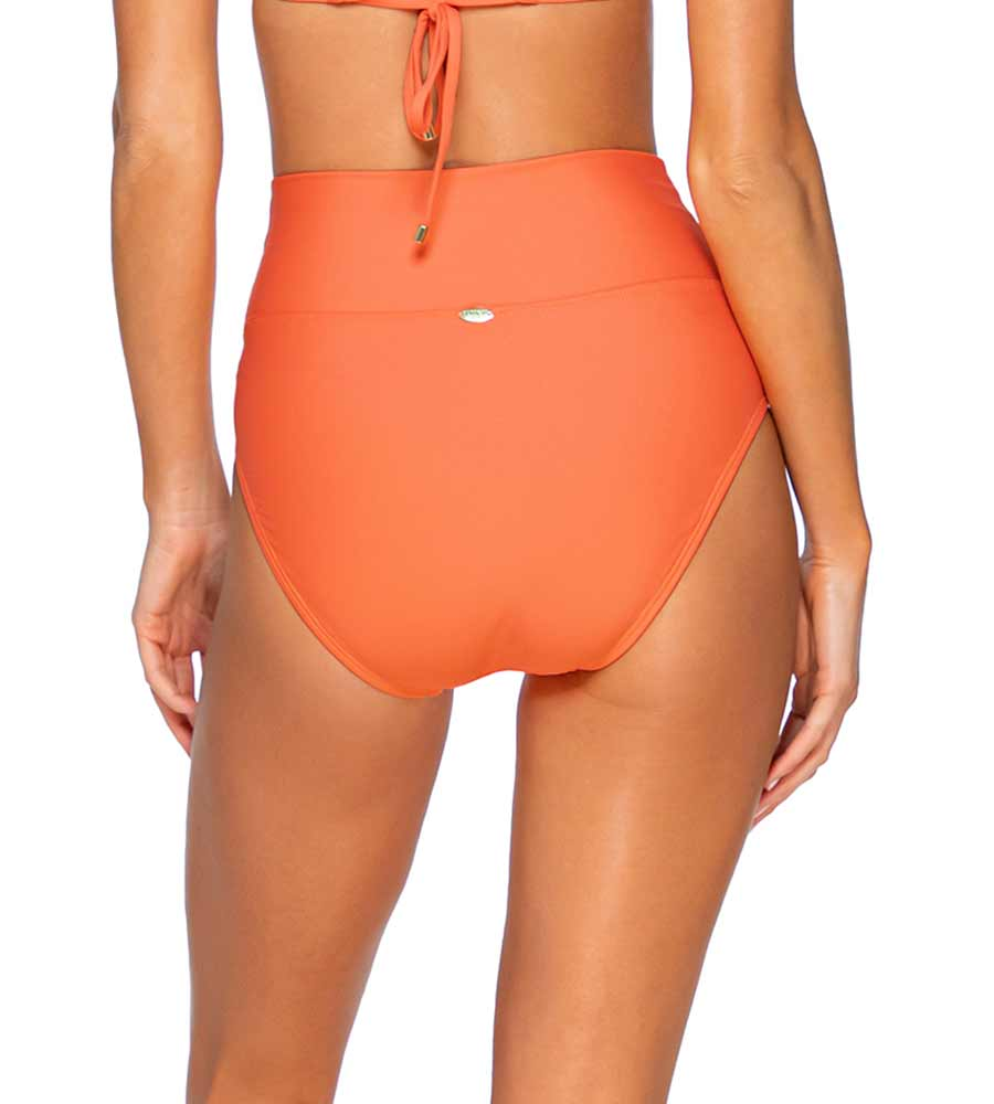 TROPICAL CORAL HANNAH HIGH WAIST BOTTOM SUNSETS 33BTROCO