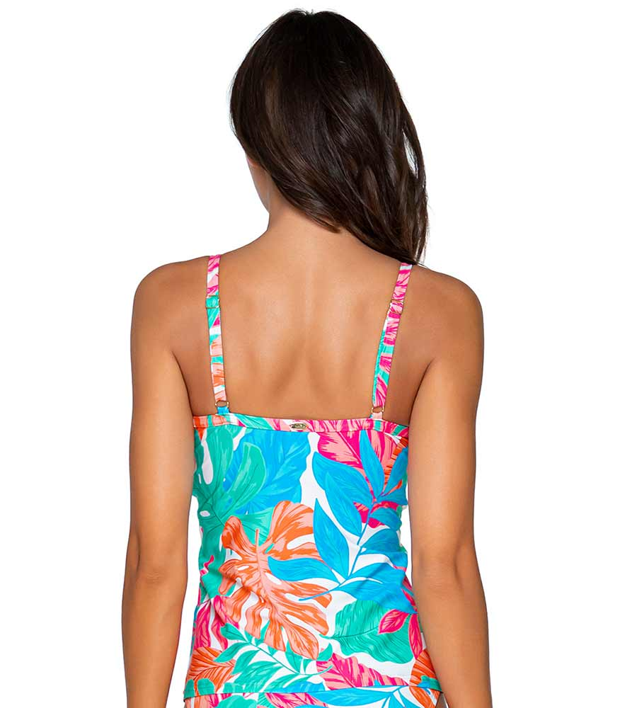 TROPICALIA FOREVER TANKINI TOP SUNSETS 77TRPIC