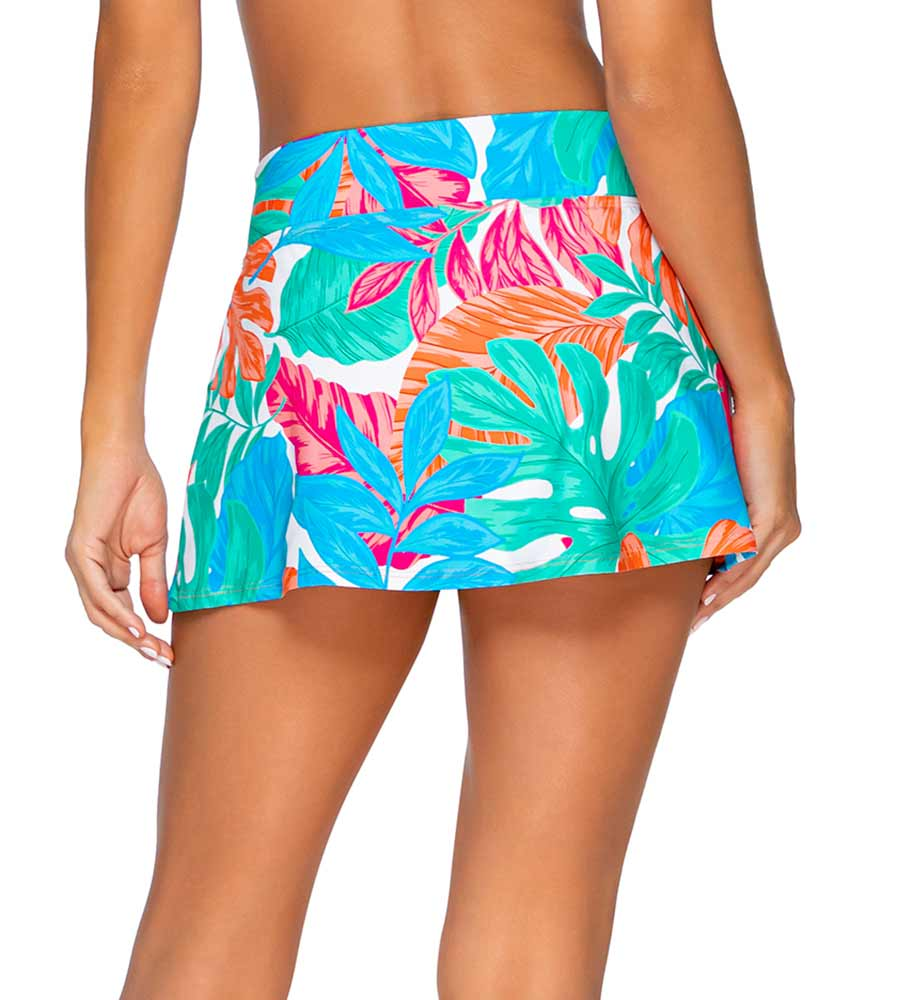 TROPICALIA SUMMER LOVIN SWIM SKIRT SUNSETS 41BTRPIC