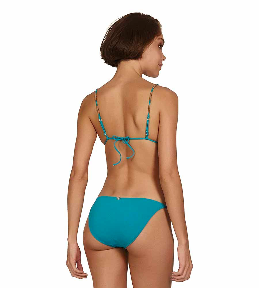 TURQUOISE LAURA TRI PARALELL TOP VIX 070-407-051