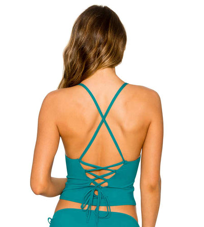 SEABEAN PALM CROSS TOP B.SWIM U52SEAB
