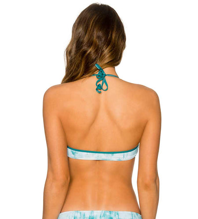 PIPELINE TIE DYE B. BEACH SIDE TOP B.SWIM U73PITD
