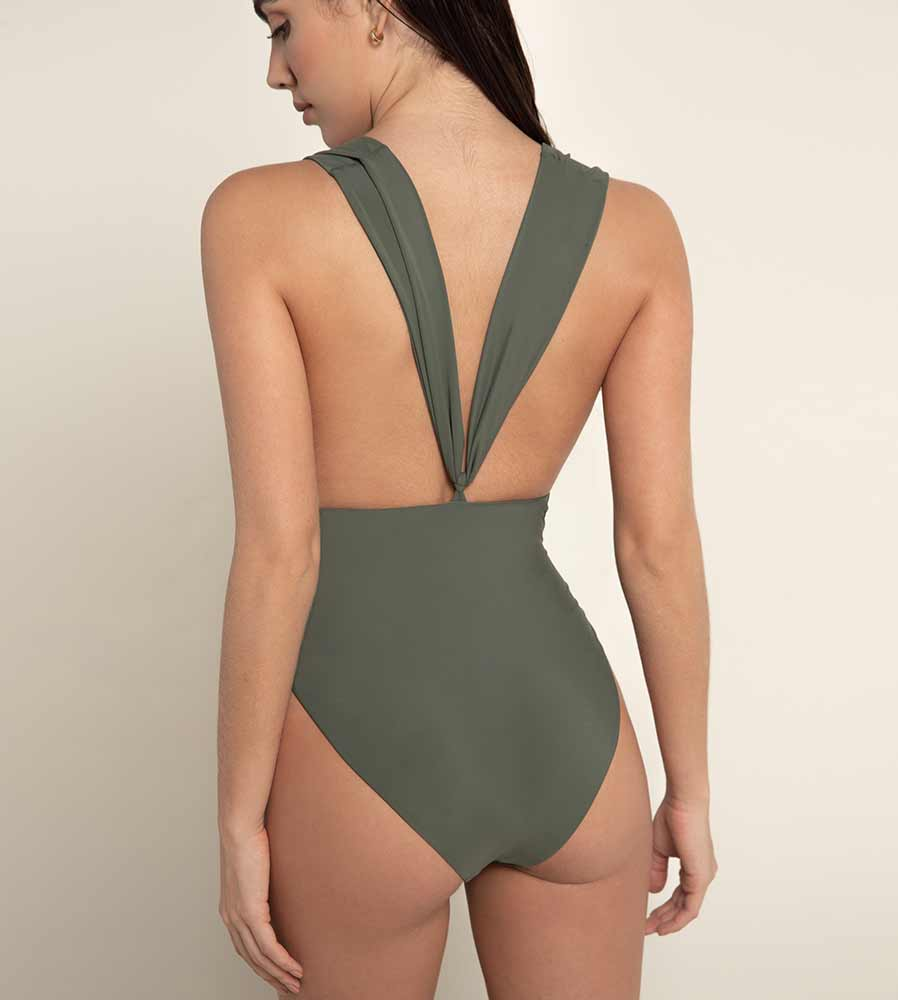 VERDE PALETTE ELLIS ONE PIECE BY AGUA BENDITA