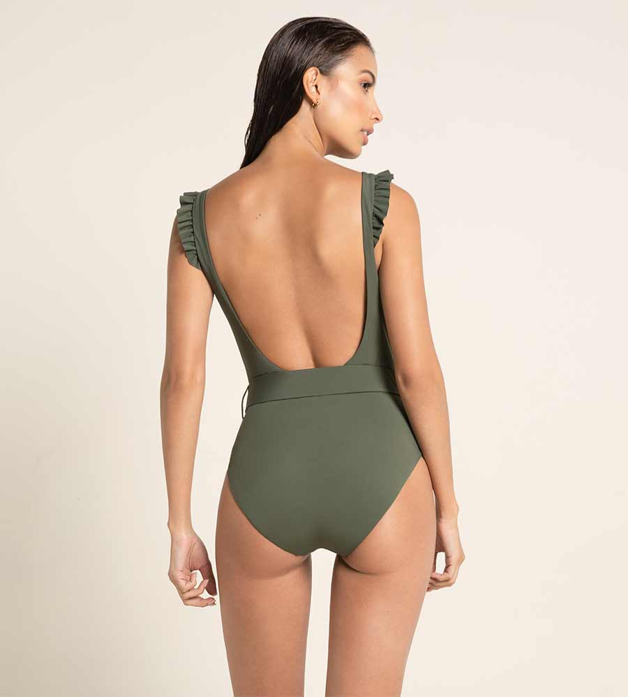 VERDE PALETTE NICOLETTE ONE PIECE BY AGUA BENDITA