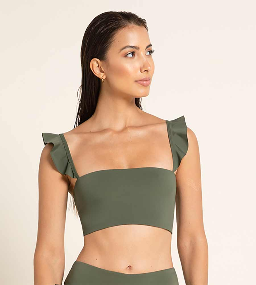 VERDE PALETTE SUSAN TOP BY AGUA BENDITA