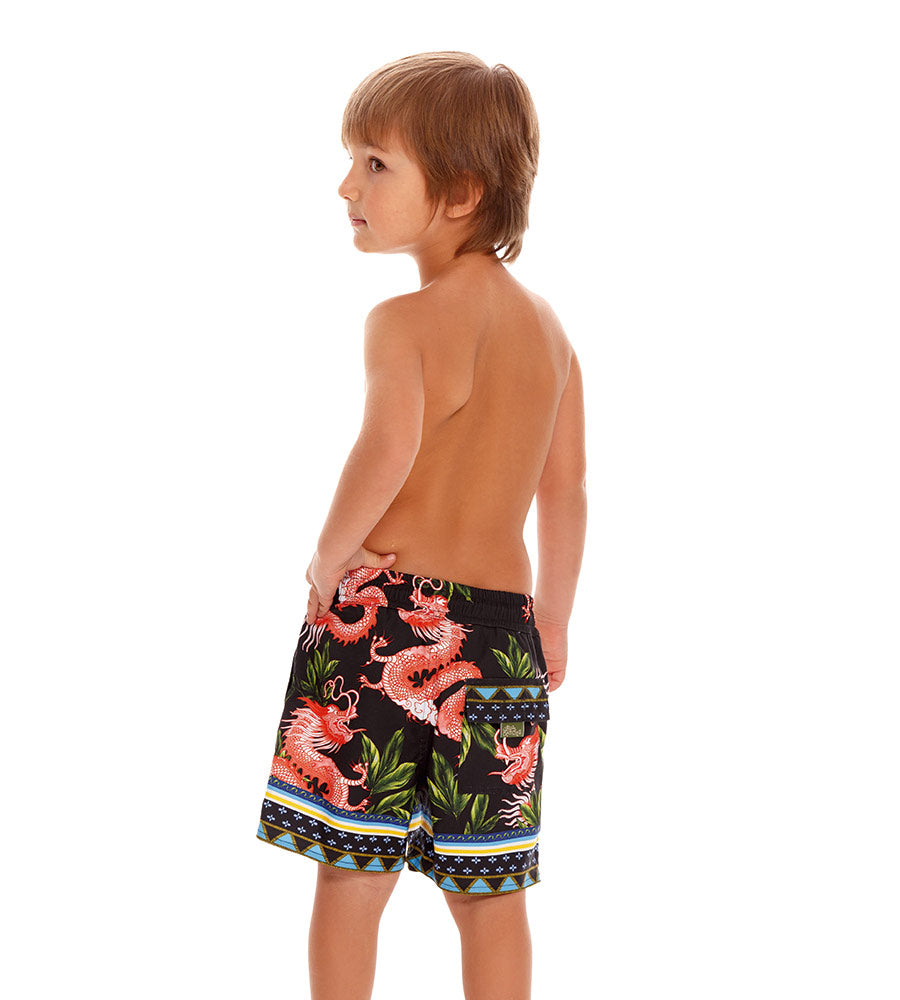 VOILA NICK BOYS SWIM TRUNKS AGUA BENDITA AN2001921-1