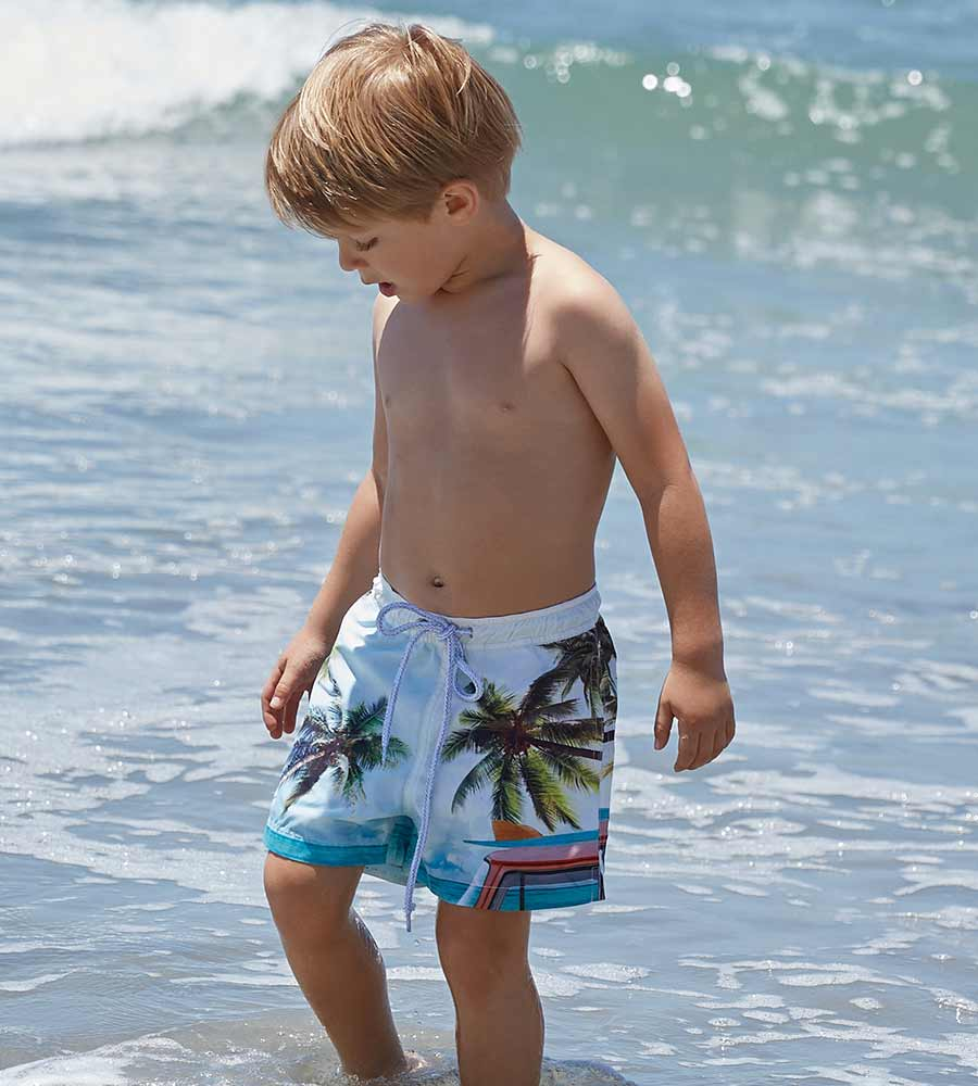 VW BUS BOYS SWIM SHORTS PILYQ BUS-712S