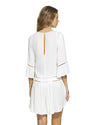 WHITE AGATA SHORT DRESS VIX 298-907-002