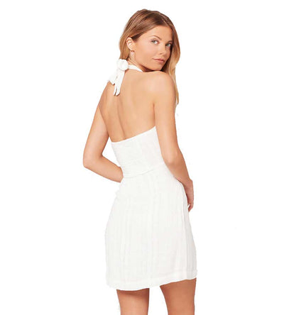 WHITE ANGELA DRESS LSPACE ANGDR19-WHT