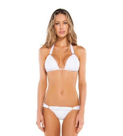 WHITE BIA TUBE TOP BY VIX