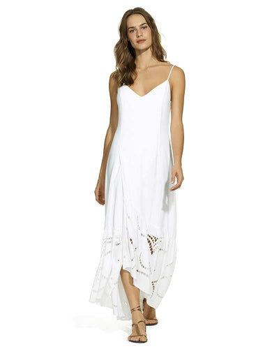 WHITE ELMA DRESS VIX 296-811-003