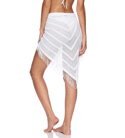 WHITE INDIAN SUMMER PAREO BEACH BUNNY B16130C8-WHTE