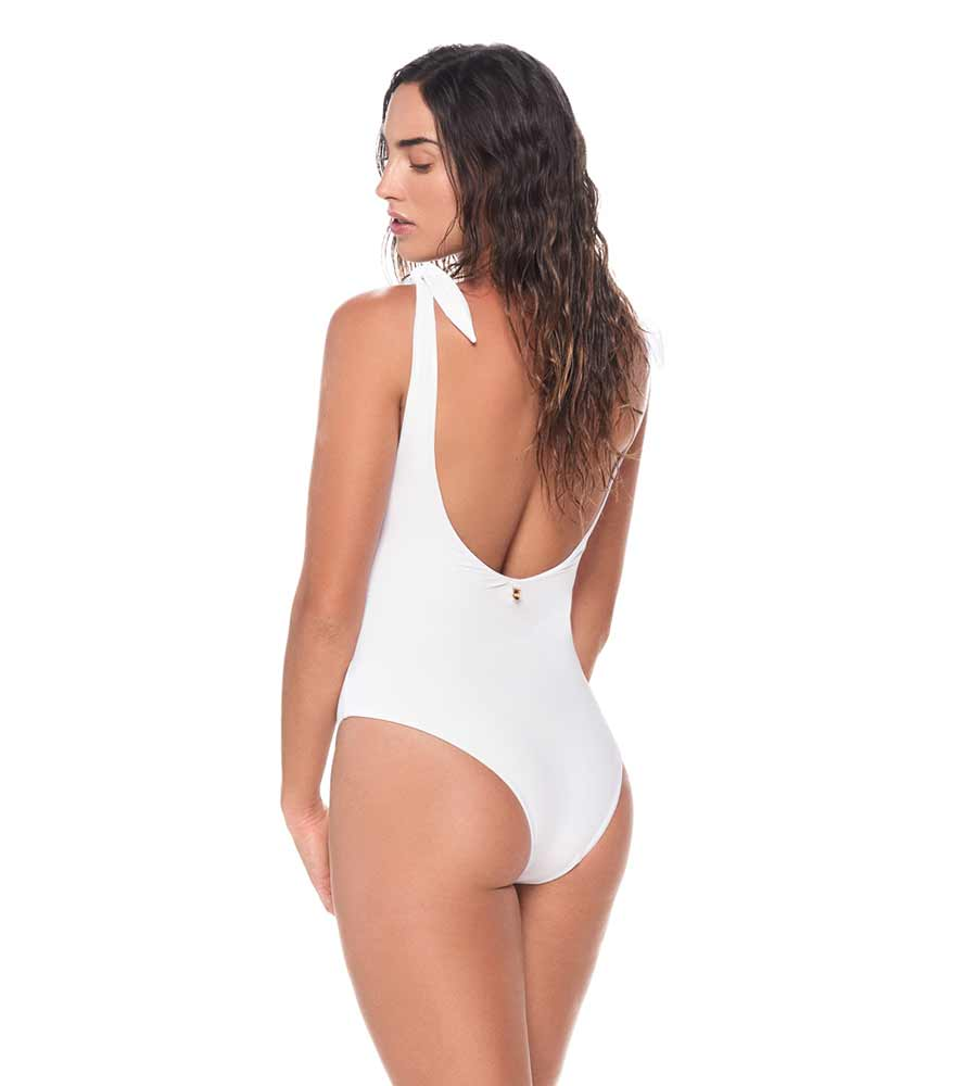 WHITE LIGHTUP ONE PIECE BY MALAI