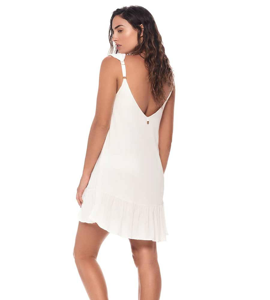 WHITE MAGGIE DRESS BY MALAI