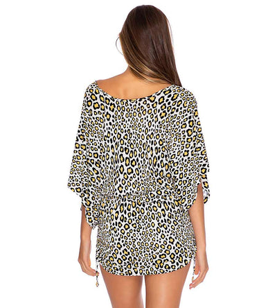 WILD SIDE CABANA DRESS LULI FAMA L642976-111