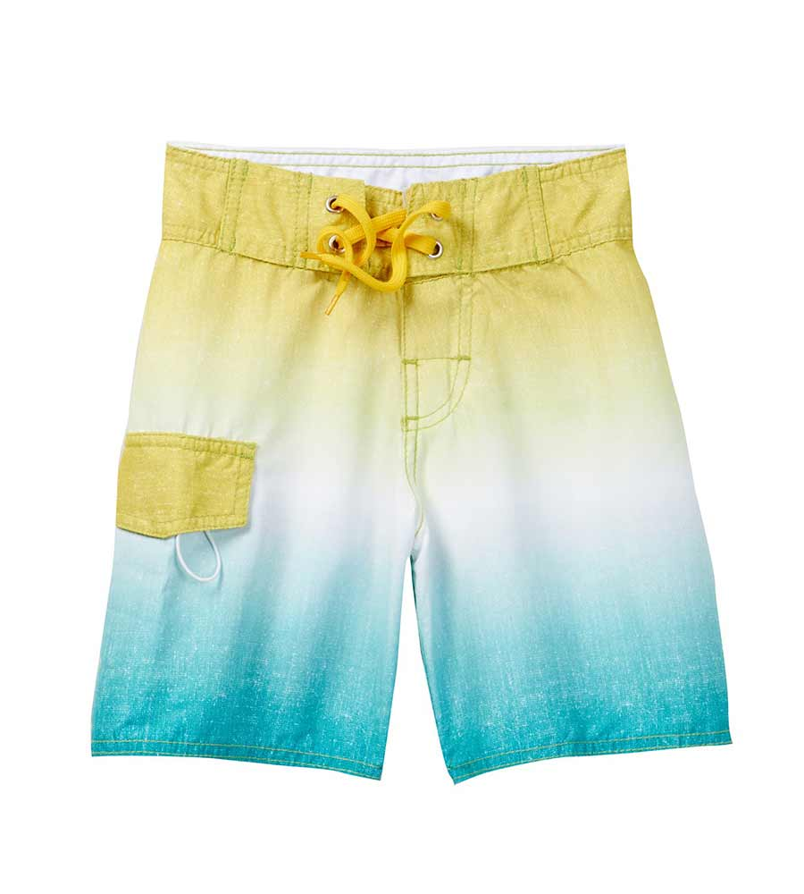 YELLOW OMBRE BOARDSHORTS AZUL 291-Y