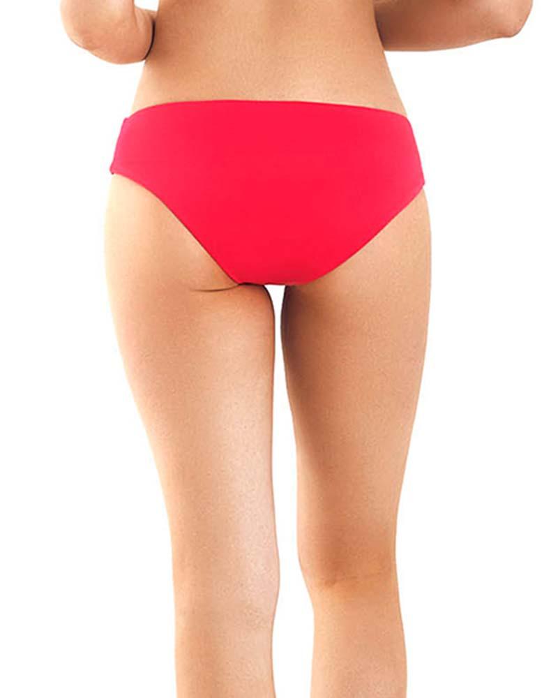TULI RED BIKINI BOTTOM MOLA MOLA BI TULI  RED BOTTOM
