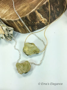 Raw Smoky Quartz Nugget Pendants