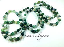 Load image into Gallery viewer, Moss Agate Healing Bracelet