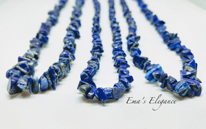 Lapis Lazuli Necklace and Bracelet