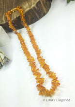 Load image into Gallery viewer, Light Caramel Baltic Amber Necklace