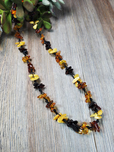 Stylish Baltic Amber Necklace