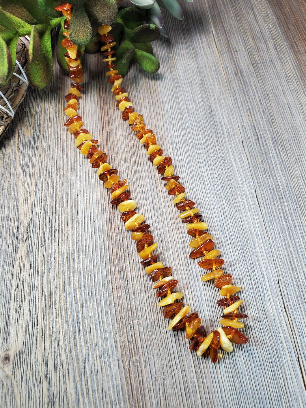 Adult Baltic Amber Necklace, Migraine Necklace