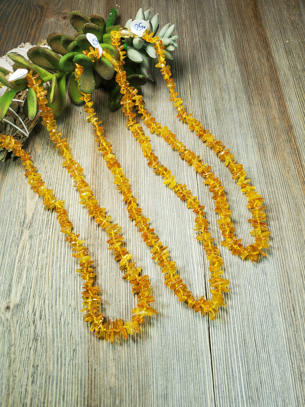 Light Caramel Baltic Amber Necklace