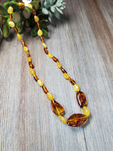Load image into Gallery viewer, Lemon Baltic Amber Necklace, Adult Pain Necklace