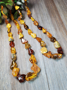 Large bead Baltic amber
