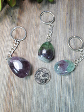 Load image into Gallery viewer, Fluorite Keychain