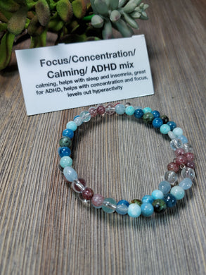 ADHD, Focus and Concentration mix