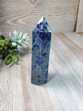 Load image into Gallery viewer, Large Sodalite Tower