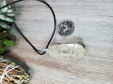 Load image into Gallery viewer, Clear Crystal Quartz Raw Pendant