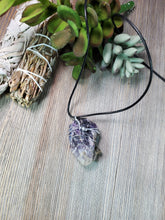 Load image into Gallery viewer, Raw Amethyst Pendant