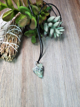 Load image into Gallery viewer, Raw Emerald Pendant