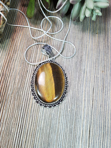 Tiger's Eye Pendant TE1