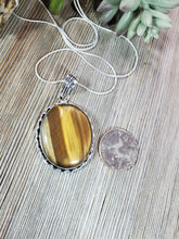Load image into Gallery viewer, Tiger's Eye Pendant TE3