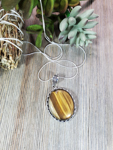 Tiger's Eye Pendant TE3