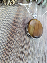 Load image into Gallery viewer, Tiger's Eye Pendant TE4