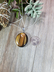 Tiger's Eye Pendant TE4