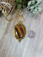 Load image into Gallery viewer, Tiger's Eye Pendant TE5