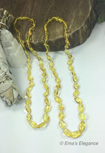 Load image into Gallery viewer, Polished lemon Baltic Amber Necklace