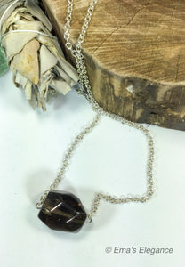 Large Smoky Quartz Pendant