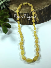Load image into Gallery viewer, Raw Lemon Adult Baltic Amber Necklace, Pain & Inflammation